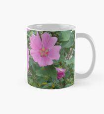 Zarte rosa Hibiskusblüten Tasse (Standard)