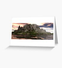 Unknown Continent Greeting Card