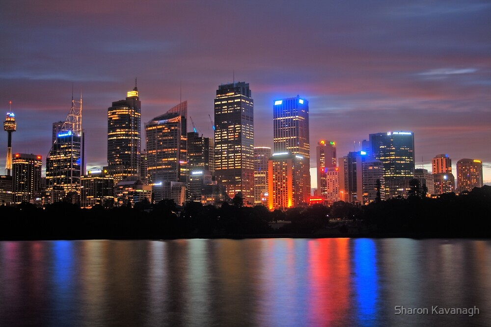 Sydney City Reflects_HDR by Sharon Kavanagh