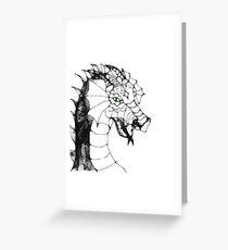 Scribbler Dragon Greeting Card