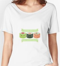 Sushi Rolls Not Gender Roles Women's Relaxed Fit T-Shirt