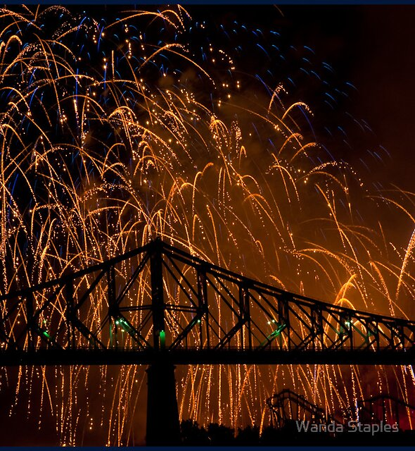International Fireworks Competition by Wanda Staples