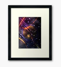 Time Travel, Simplified Framed Print