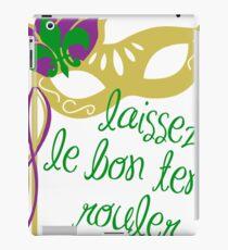 Karneval 'Let The Good Times Roll' auf Französisch iPad-Hülle & Klebefolie