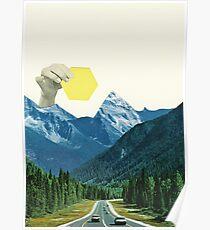 Berge bewegen Poster