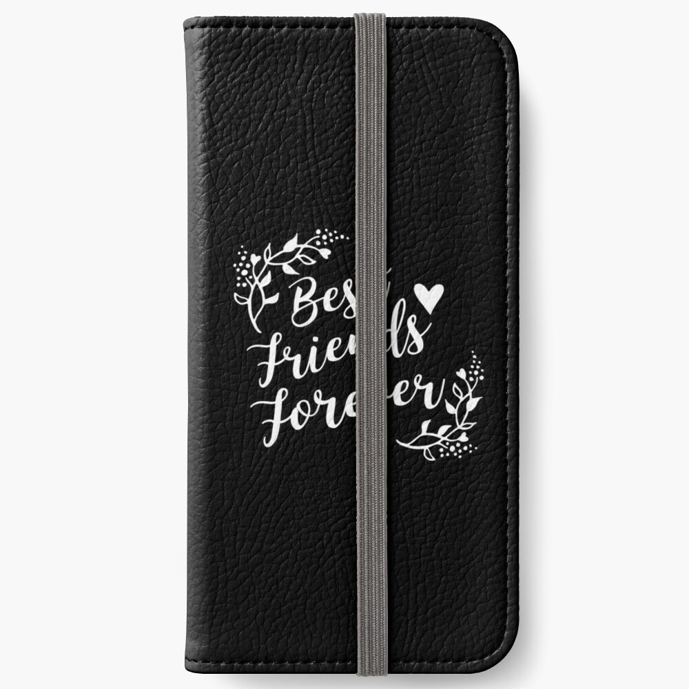 Best Friends Forever BFF Goals Besties Gift Idea iPhone Flip-Case