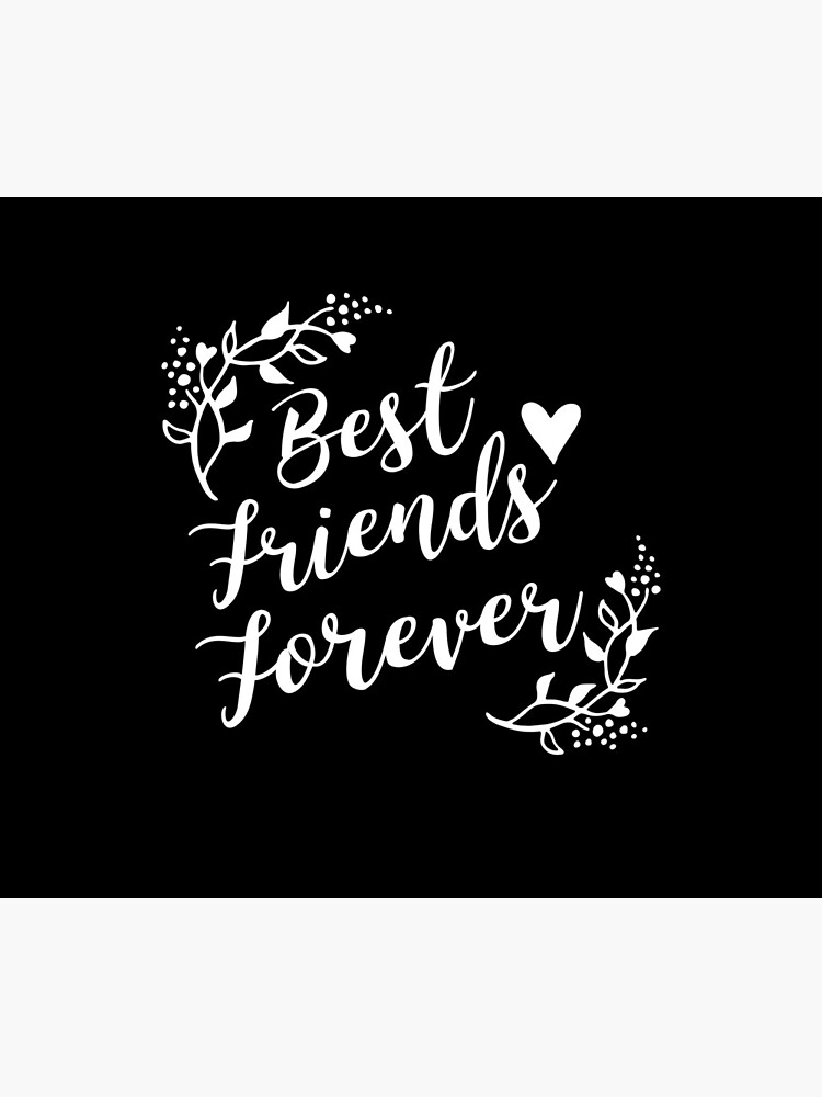 Best Friends Forever BFF Goals Besties Gift Idea von haselshirt