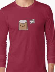 Sassy Tea Puns: Cute-Tea Long Sleeve T-Shirt