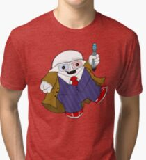 Adipose as the 10th Doctor Tri-blend T-Shirt