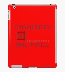 the income inquality iPad Case/Skin