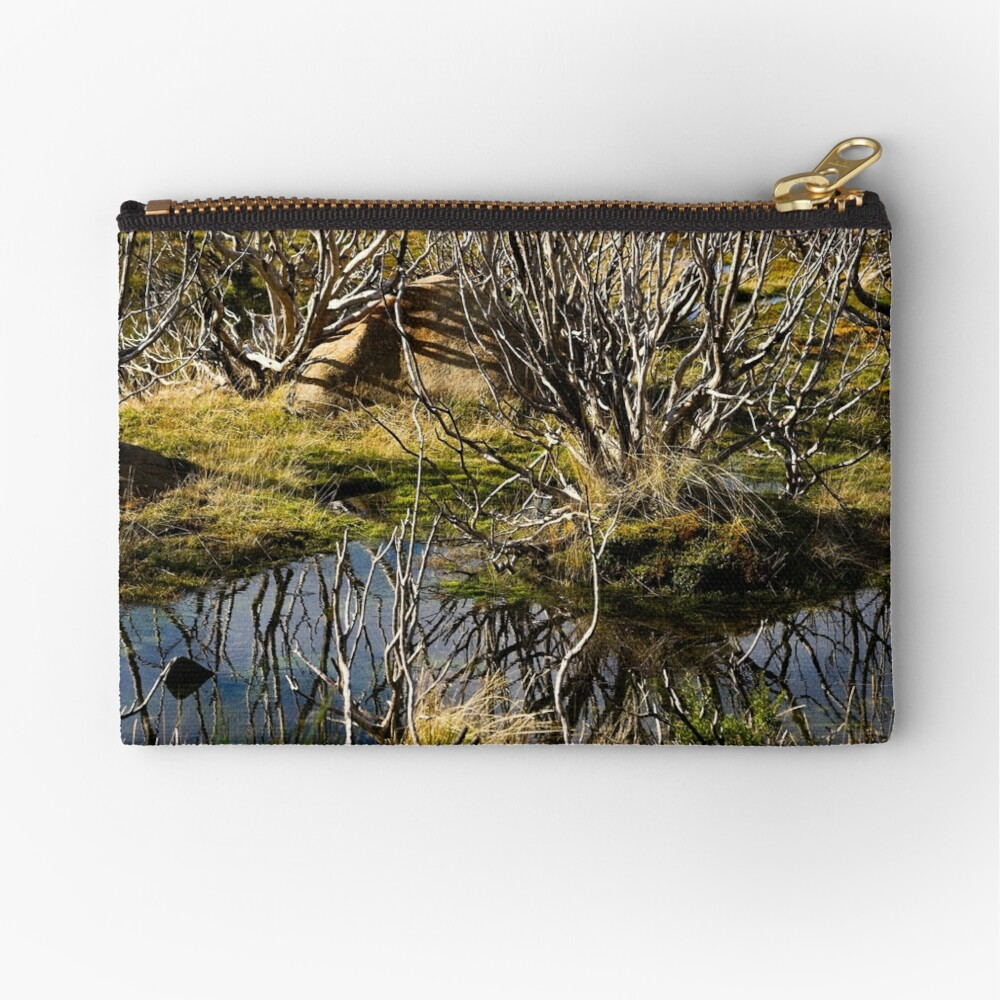 Devil's gullet wetlands Zipper Pouch
