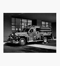 Fireman's Antique Photographic Print