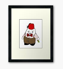 Adipose as the 11th Doctor Framed Print