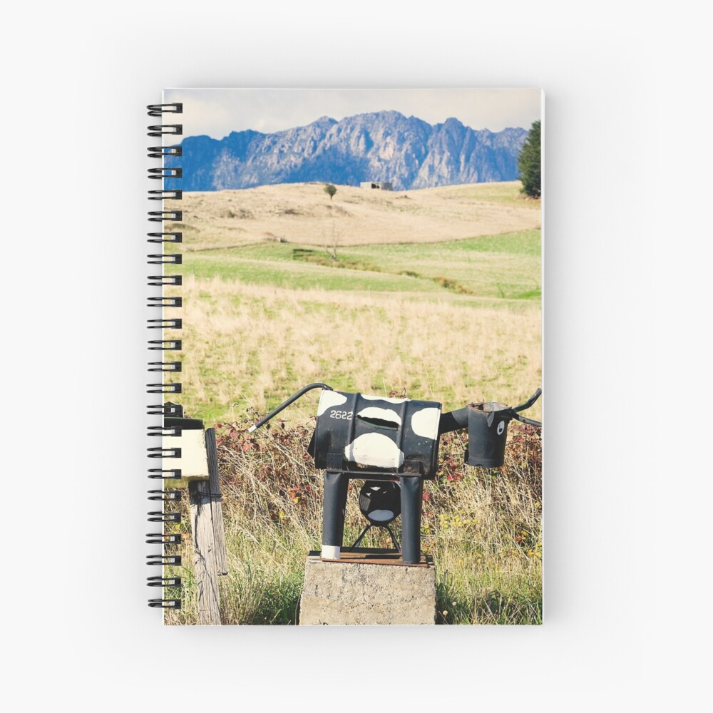 Wilmot letterboxes horizontal Spiral Notebook