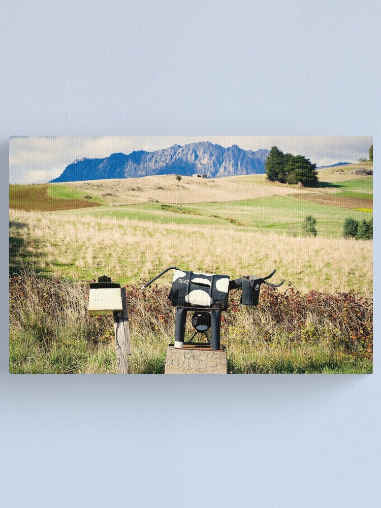 Alternate view of Wilmot letterboxes horizontal Canvas Print