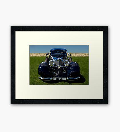 1937 Mercedes-Benz 540K Cabriolet A Framed Print
