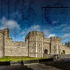 Vintage Style Postcard - Windsor Castle by Phototrinity