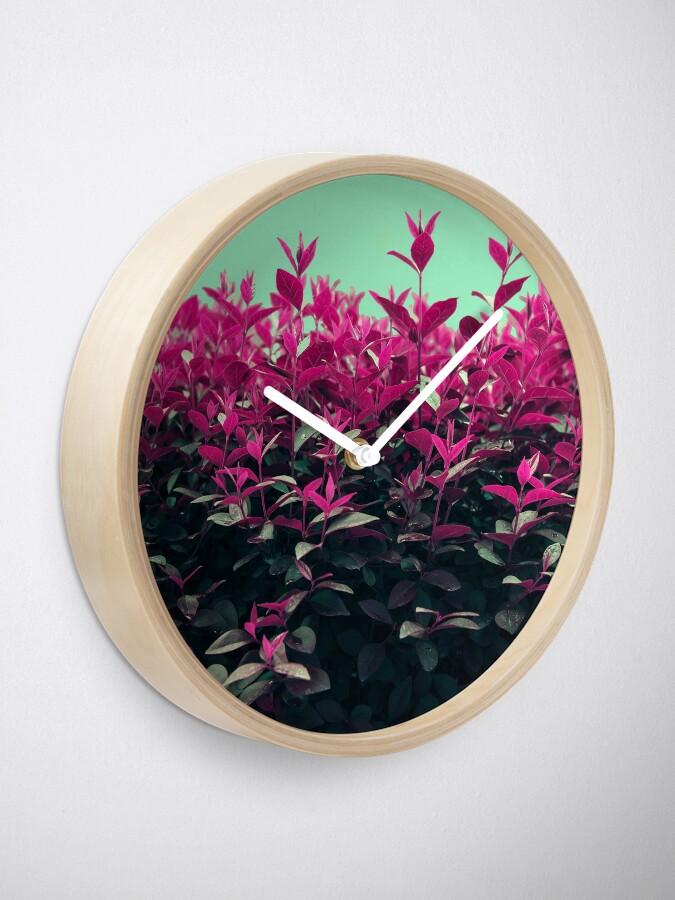 Alternate view of Pink Spring Clock