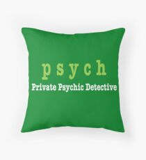 Cojín PSYCH Private Psychic Detective Agency