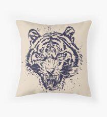 Tiger Illustration Floor Pillow