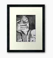 spent Framed Print