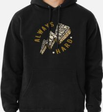 Hard Rock Thunder Hand Lettering Pullover Hoodie