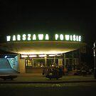 Old ticket office in Warsaw, Poland by Lukasz Godlewski