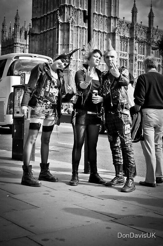 Quot Punks In London Punk Rockers Quot By Dondavisuk Redbubble