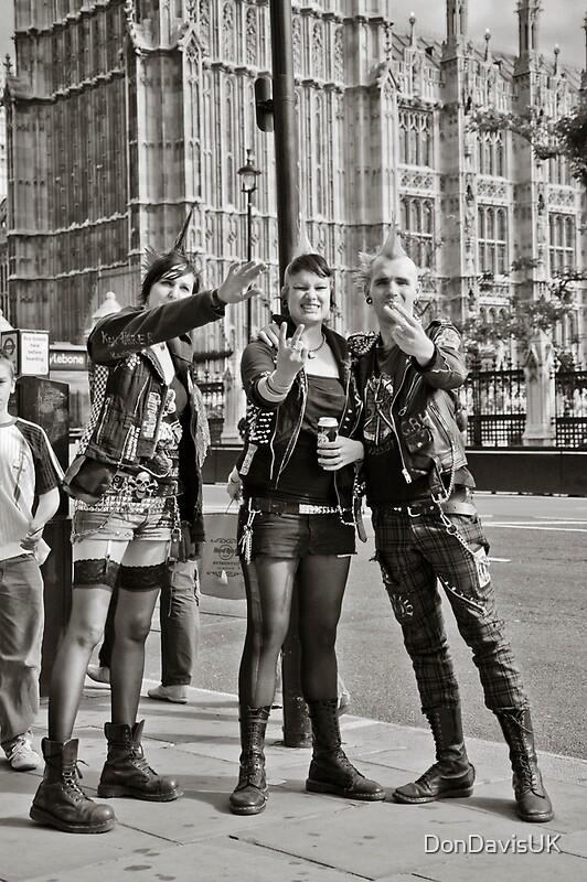 Quot Punk Rockers In London Uk Quot By Dondavisuk Redbubble