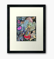 Dumb Elephant Tricks Framed Print