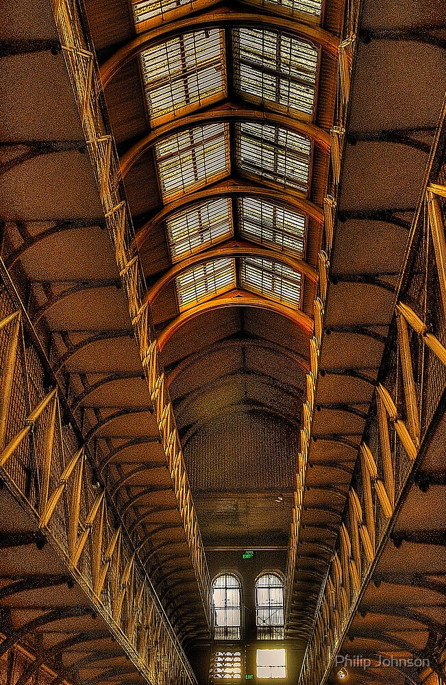 Crime & Punishment - Old Melbourne Gaol, Melbourne - The HDR Experence by Philip Johnson