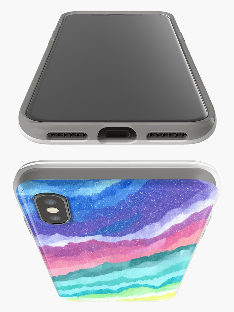 Alternate view of Acrylic Mountains #1 iPhone Cases & Covers