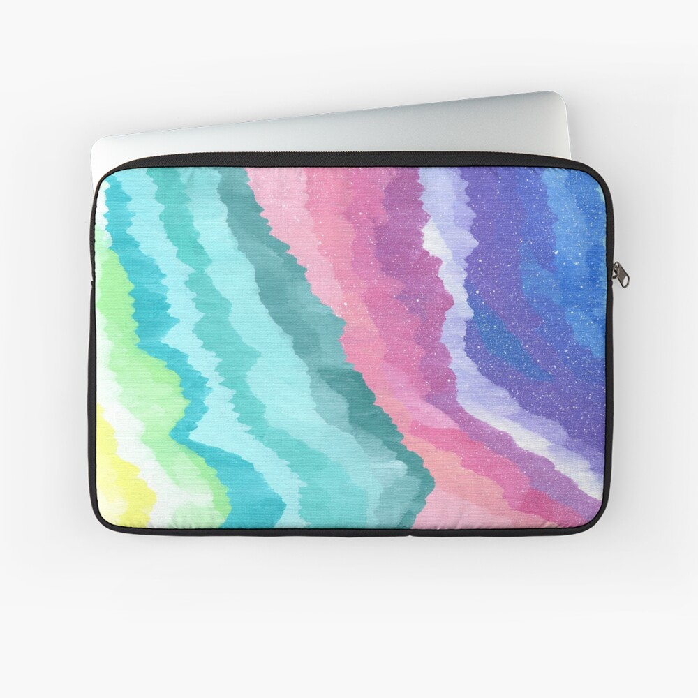 Acrylic Mountains #1 Laptop Sleeve