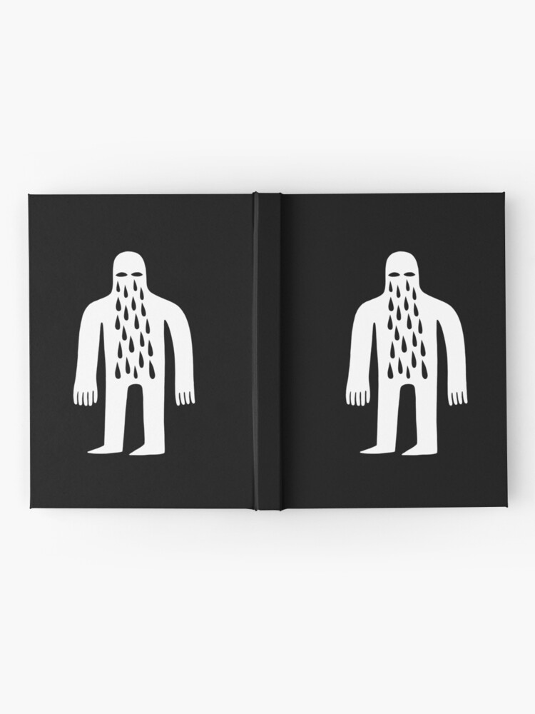 Alternate view of Crying Man Hardcover Journal