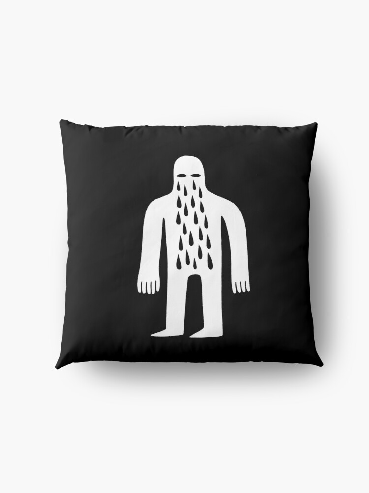 Alternate view of Crying Man Floor Pillow