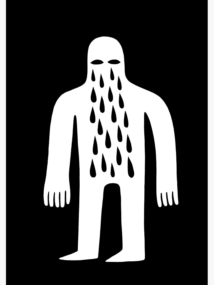 Crying Man by jackteagle