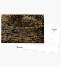 Greebelish Abstractish Postcards