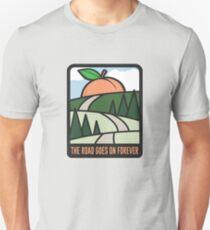Die Straße geht für immer weiter Slim Fit T-Shirt