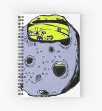 asteroidday Spiral Notebook