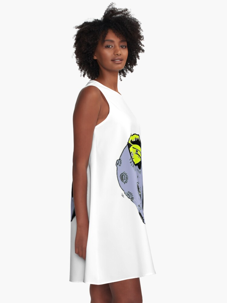 Alternate view of asteroidday A-Line Dress
