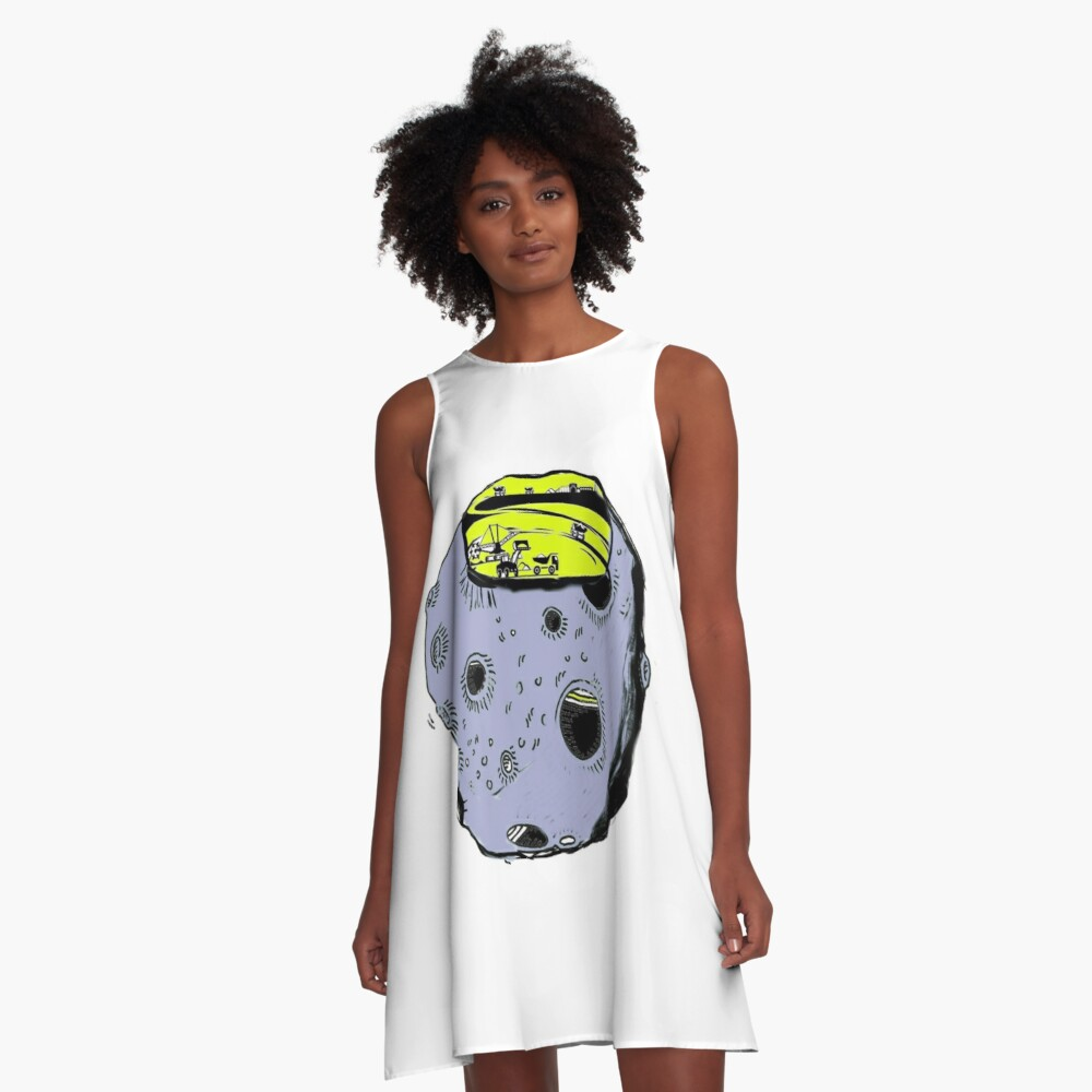 asteroidday A-Line Dress