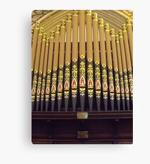 Organ Canvas Print