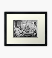 I Call Your Bread, and I'll Raise You Toast Framed Print