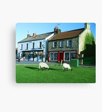 Aidensfield - Heartbeat TV Show (Goathland) Yorkshire Canvas Print