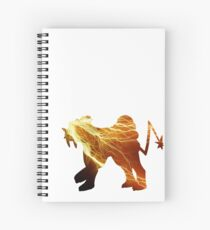 Raikou used thunder Spiral Notebook