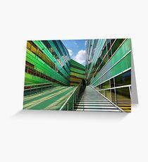 Colorful walls (4) Greeting Card
