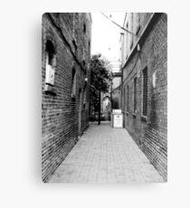 Quiet Alley Metal Print