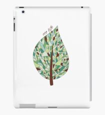 Ecology card design  iPad Case/Skin