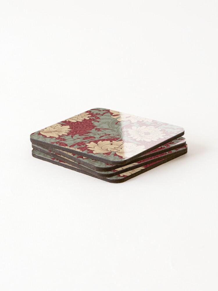 Alternate view of WILLIAM MORRIS DETAIL  1055 Coasters (Set of 4)