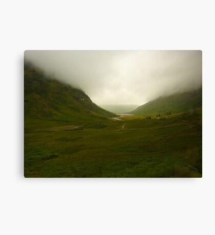Glencoe  Canvas Print